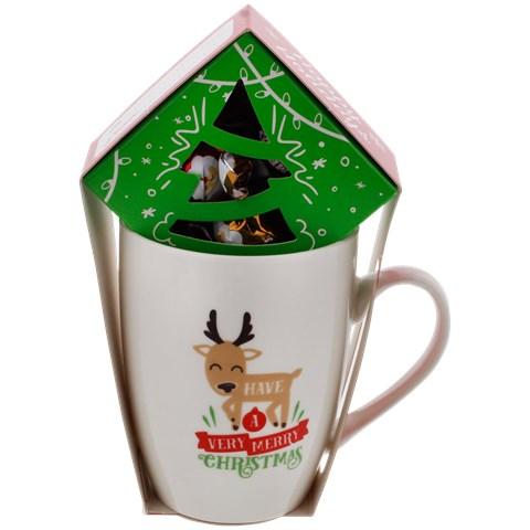 Mug de Noël avec Pralines