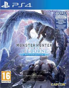 Jeu Monster Hunter World: Iceborne Master Edition sur PS4 (vendeur tiers)