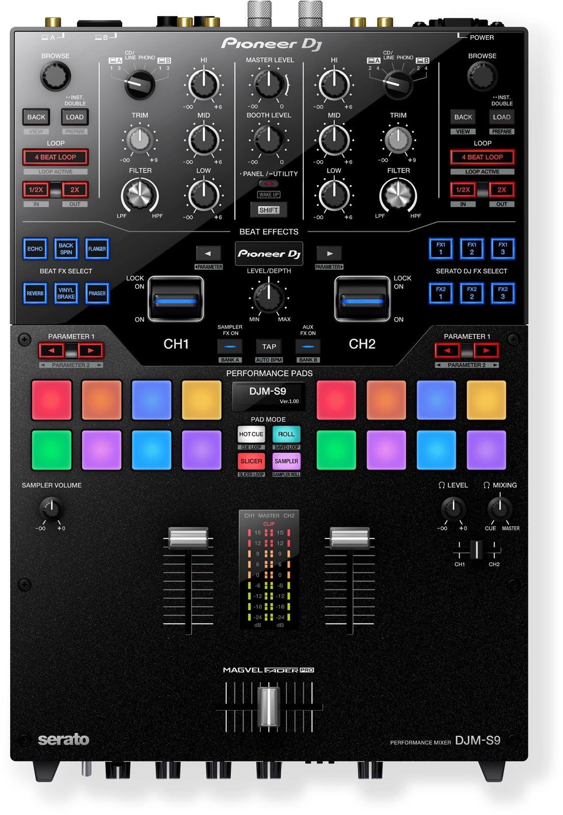 Table de mixage Pioneer DJ S9 Serato