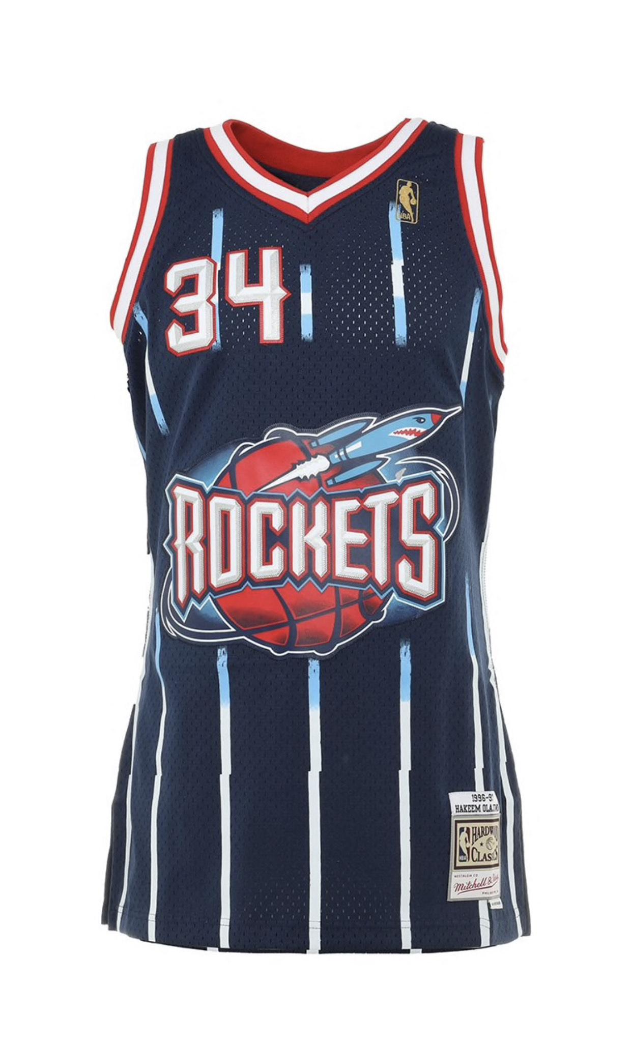 Maillot NBA Mitchell And Ness Houston Rockets Hakeem Olajuwon