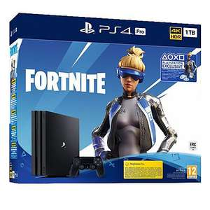 Console Sony PS4 Pro (1 To) - Noir + Fortnite Neo Versa
