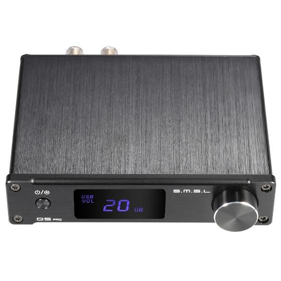 Amplificateur stéréo full digital S.M.S.L Q5 Pro - Noir