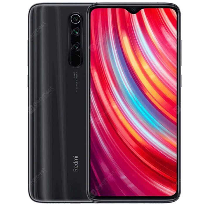 Smartphone 6,53'' Xiaomi Redmi Note 8 Pro (Noir) - MediaTek Helio G90T, 6/64 Go (Version Globale)
