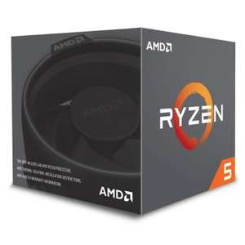 Processeur AMD Ryzen 5 1400 - 3.2 GHz, 4 coeurs, 8 threads, TDP 65W + ventilateur Wraith Spire