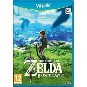 The Legend of Zelda: Breath of the Wild sur Wii U (via 44.79€ sur la carte de fidélité)