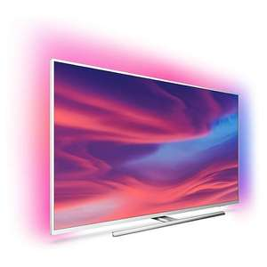"""TV 55"""" Philips 55PUS7394/12 - 4K UHD, HDR10+, Ambilight 3 côtés, Android TV, Dolby Vision & Atmos"""