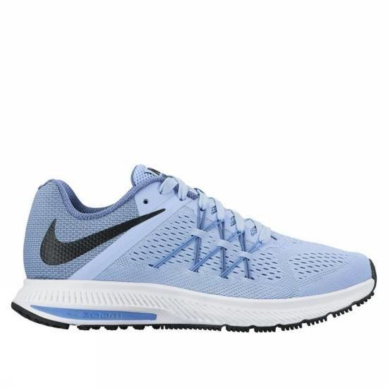 Chaussures de running Nike Zoom Winflo 3 pour Femmes - Bleu Ciel, Tailles 37.5, 38 et 41