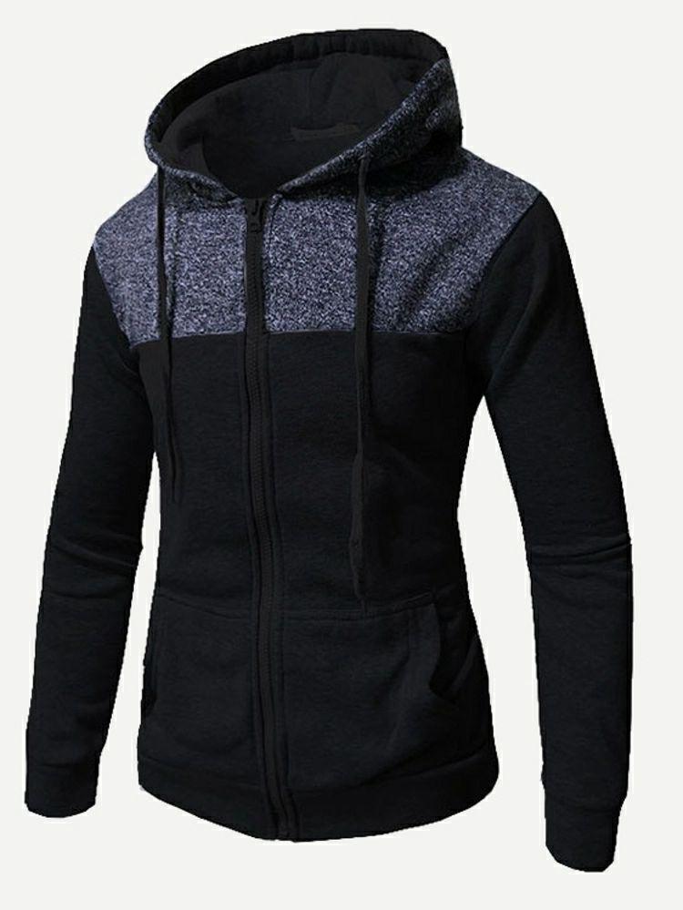 Sélection d'articles en promotion - Ex : sweat-shirt à capuche bicolore