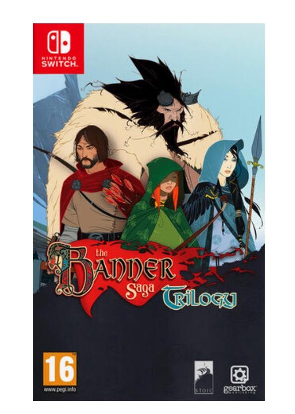 The Banner Saga Trilogy sur Nintendo Switch (via retrait magasin)