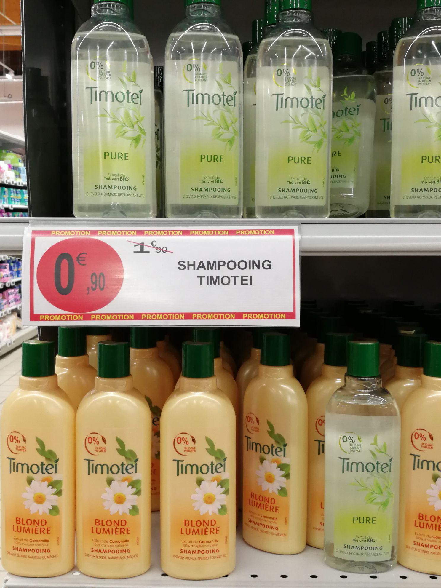 Shampooings Timotei Pure, blond lumière ou nutrition intense (via BDR) - Arles (13)