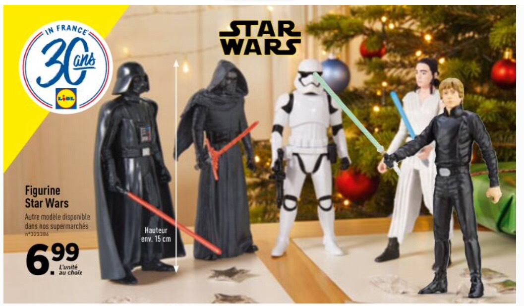 Figurine Star Wars - Hauteur 15cm
