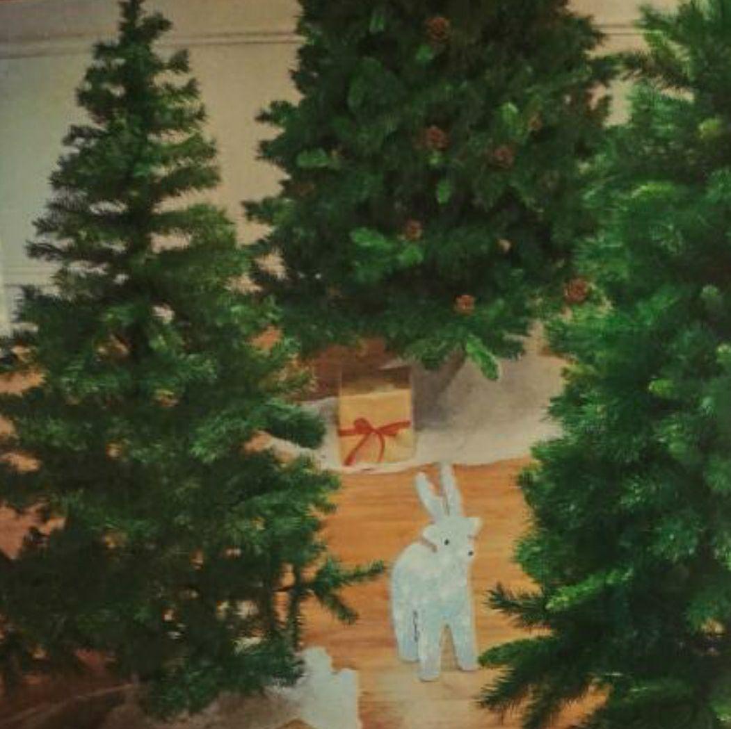 Sapin de Noël artificiel - 120 cm