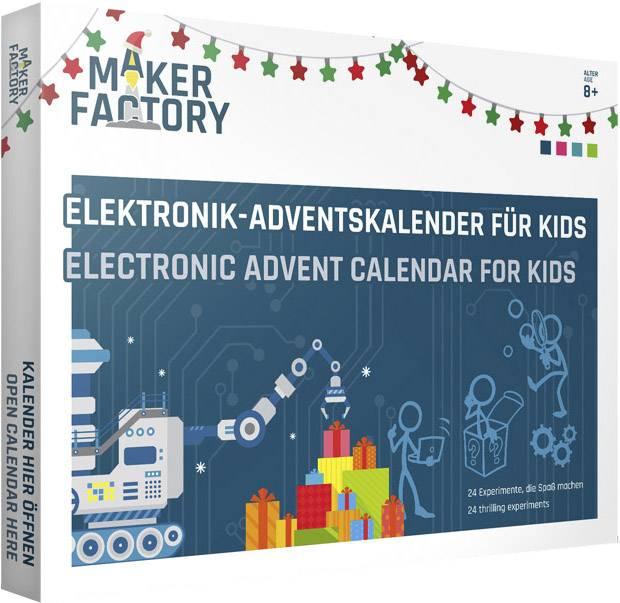 Calendrier de l'Avent Makerfactory - 24 expériences électronique à faire avec ses enfants