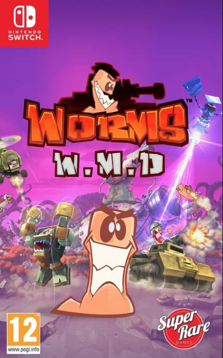 Worms W.M.D sur Nintendo Switch (Dématérialisé - Store Japonais)