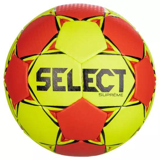 Ballon de handball Select Suprême - Taille 2, Rouge/Vert