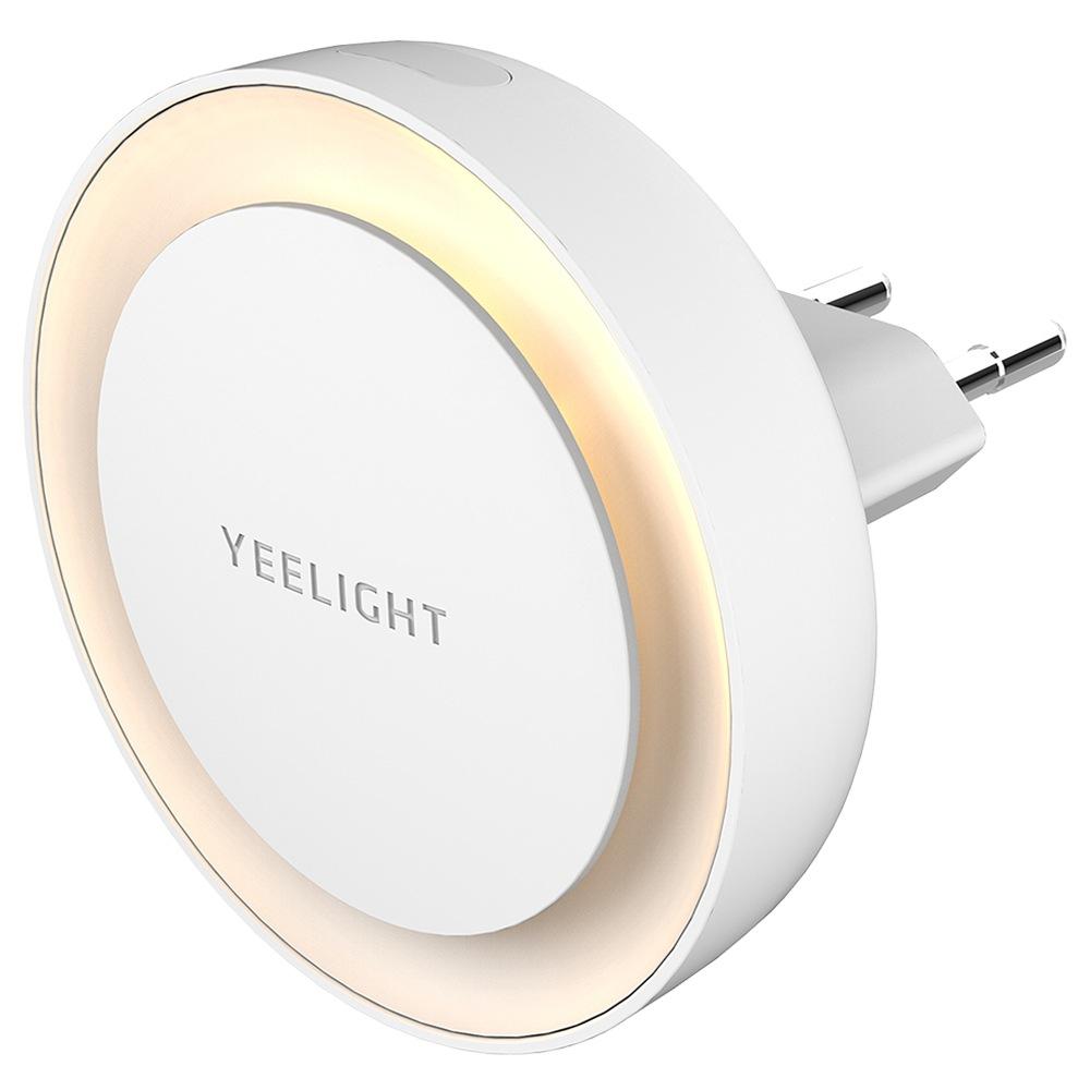 Veilleuse Xiaomi Yeelight YLYD11YL - Capteur de lumière, Blanc chaud 2700K (Plug EU)