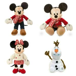 Peluche personnalisable Mickey, Minnie ou Olaf - 42 cm