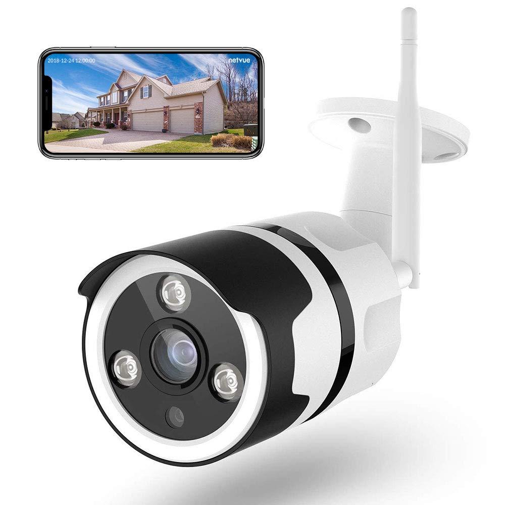 Caméra de Surveillance extérieure Netvue - Full HD, WiFi, Vision Nocturne (Vendeur Tiers)