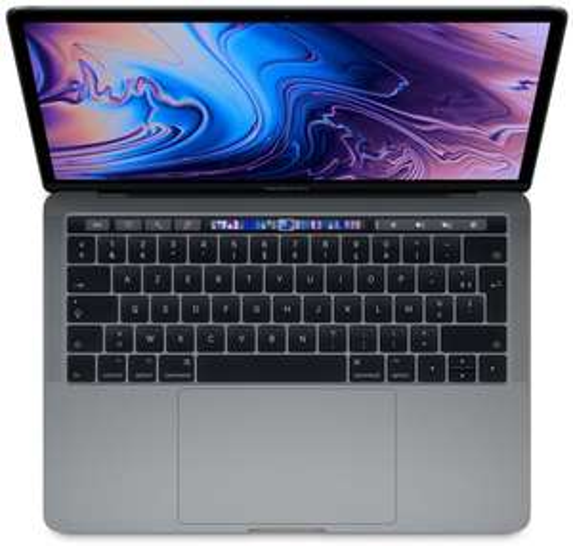 "PC portable 15.4"" Apple MacBook Pro Touch Bar (2019) - WQXGA+, i9 (2.3 GHz), Radeon Pro 560X, 16 Go de RAM, 512 Go en SSD"