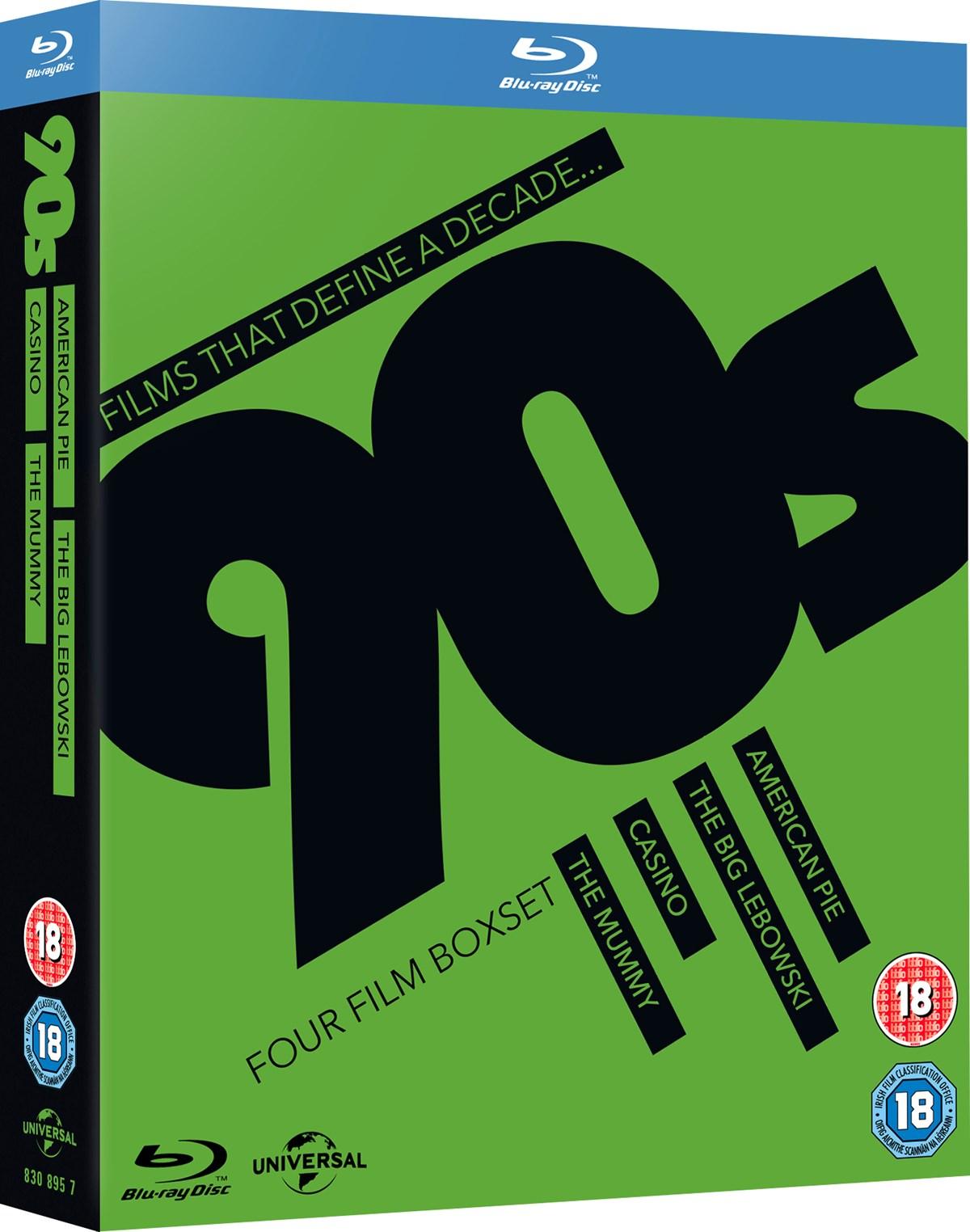 Coffret Blu-Ray That Define a Decade '90s - Casino (VF) + The Big Lebowski (VF) + La Momie (VF) + American Pie (VO)