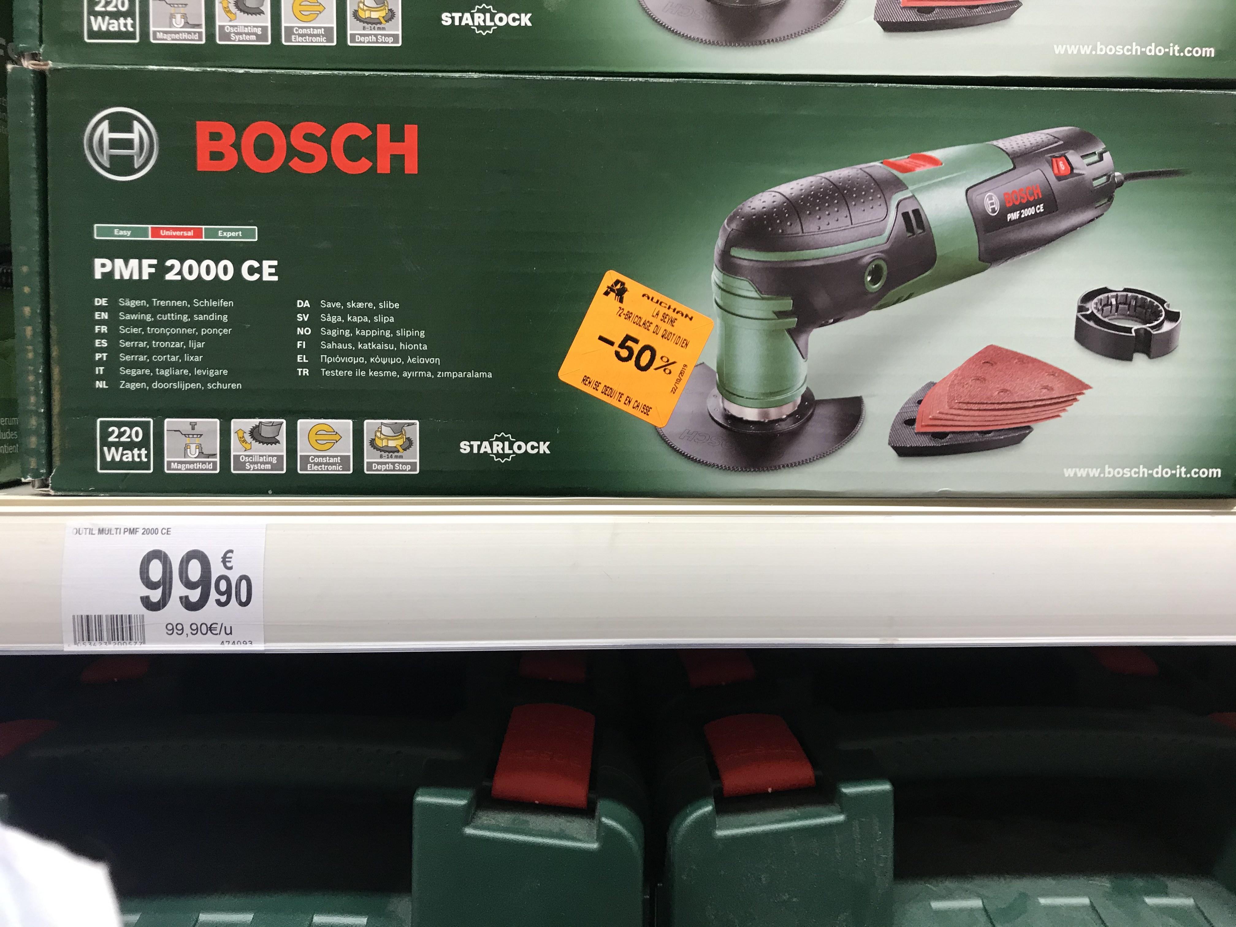 Bosch outil multifonctions PMF 2000 CE - La Seyne sur mer (83)