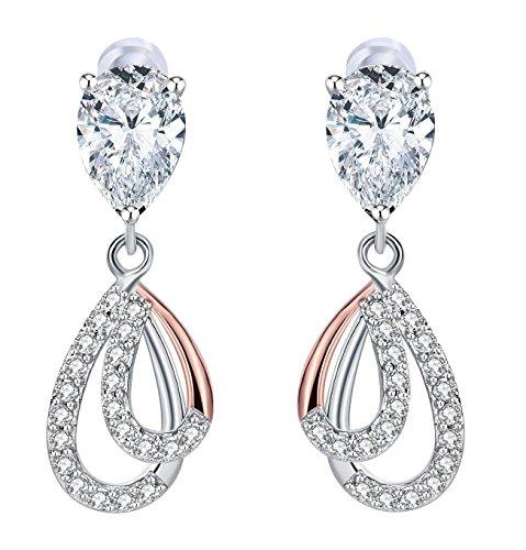 Boucles d'oreilles J.Rosée - argent 925 / Zirconium (vendeur tiers)