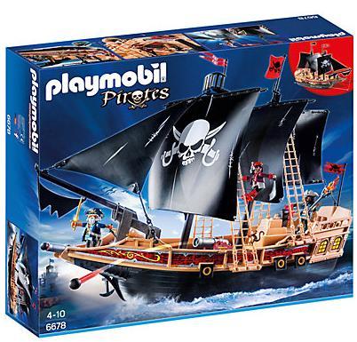 20% de réduction sur la marque Playmobil dès 49€ d'achat + 10€ de réduction pour les nouveaux clients - Ex : Playmobil 6678 : Bateau pirate