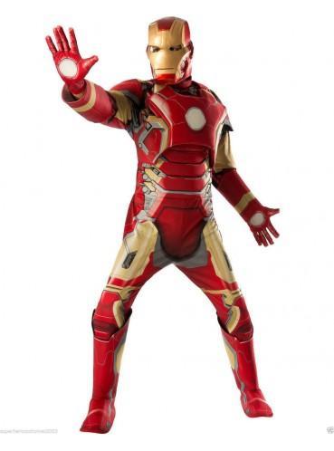 Costume Iron Man Avengers : L'Ère d'Ultron - Deluxe taille adulte M