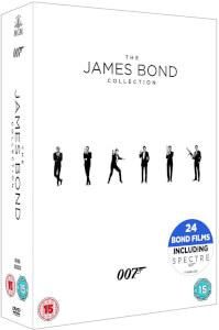 Coffret Blu-ray James Bond 007 - L'intégrale des 24 films