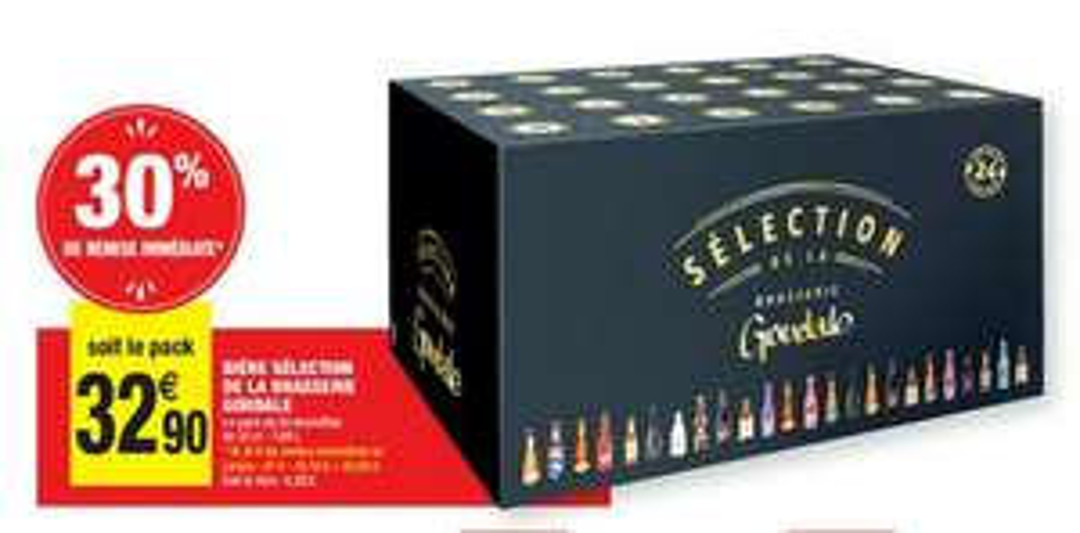 Calendrier Noël 24 bières sélection Goudale - 24x33cl