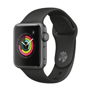 Montre connectée Apple Watch Series 3 - 38mm, Space Grey (Frontaliers Suisse)