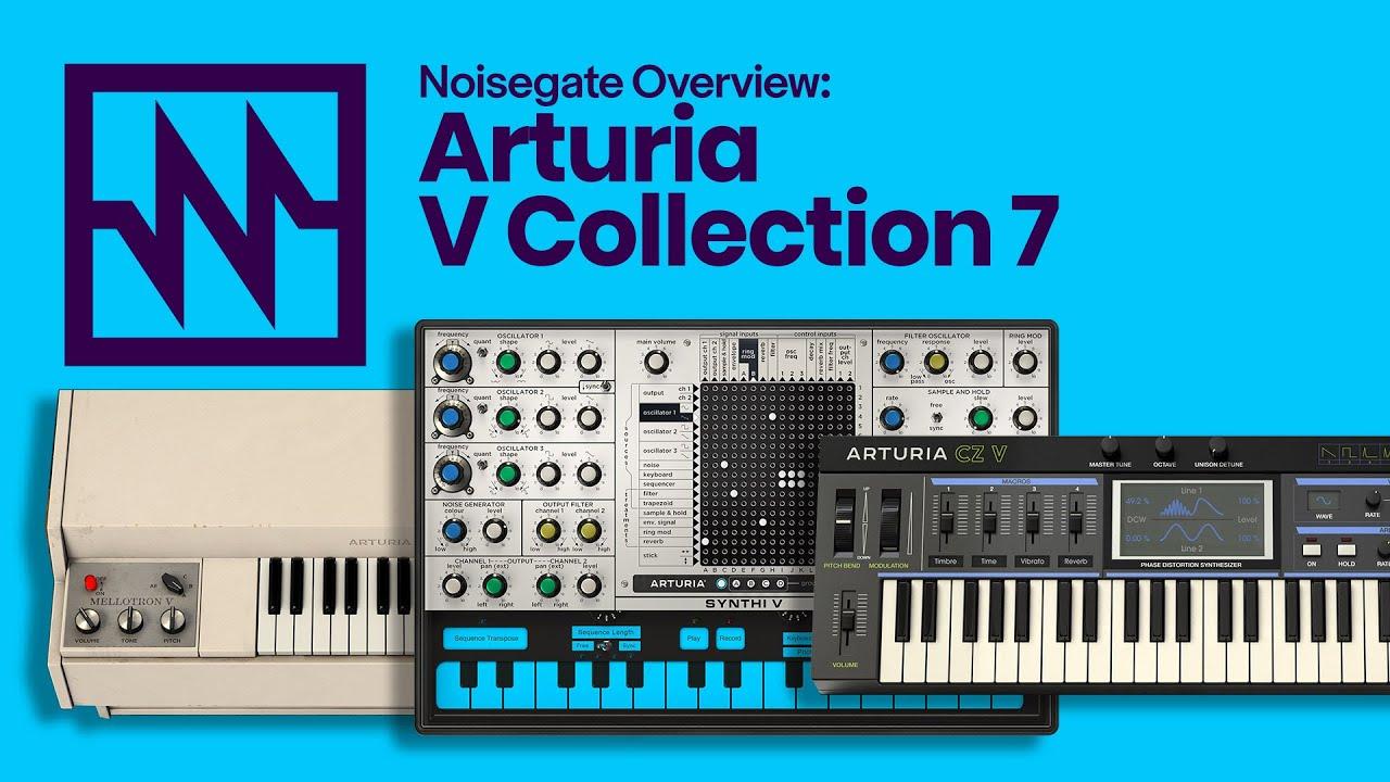 Bundle de plug-in audio Arturia V Collection (Dématérialisé)