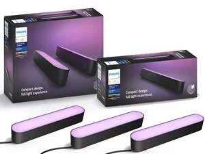 Pack de 3 Barres Philips Hue Play (Pack x2 + Extension x1) - Blanc ou Noir