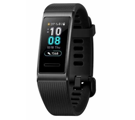 Bracelet connecté Huawei Band 3 Pro - GPS, Bluetooth, noir (vendeur tiers)