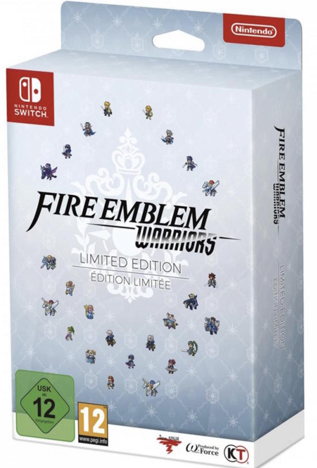Jeu Fire Emblem Warriors - édition limitée sur Nintendo Switch (via retrait en magasin) - Cherbourg (50)