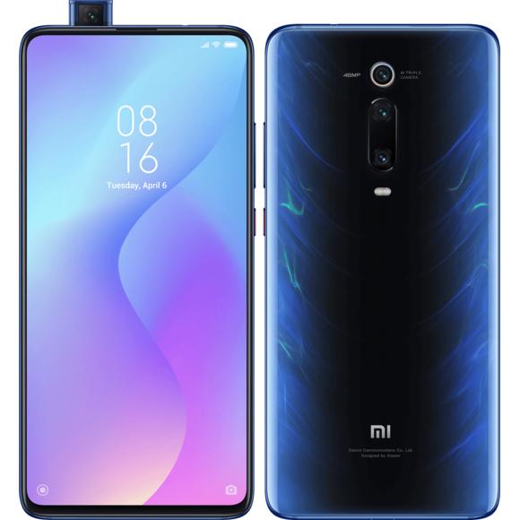"""Smartphone 6.39"""" Xiaomi Mi 9T Pro - Snapdragon 855, 6 Go de RAM, 64 Go, Bleu, 4G (B20/28)"""