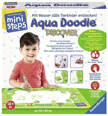 Sélection de puzzles et coloriages Ravensburger en promotion - Ex : Aqua Doodle Ministeps Discover