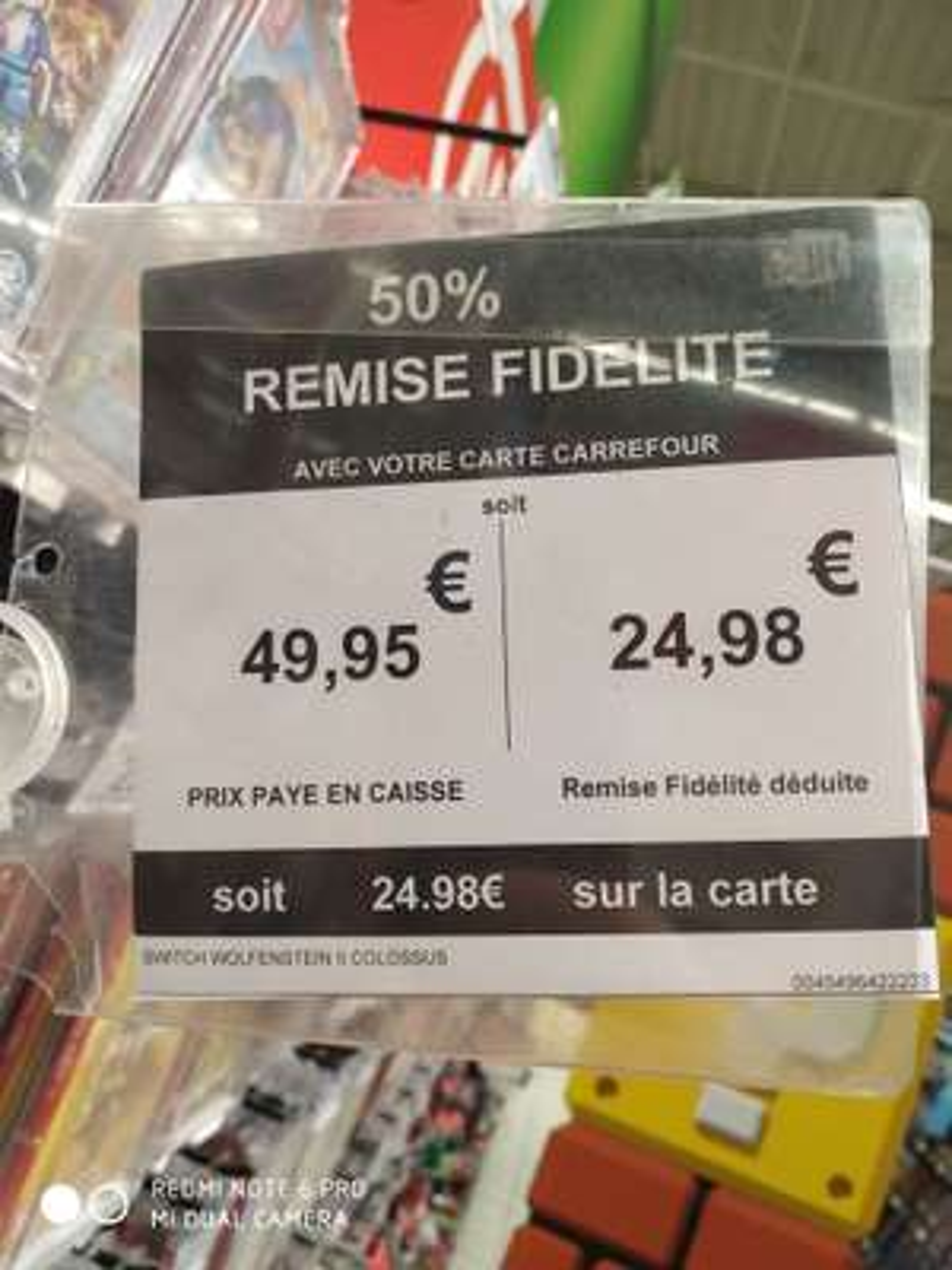 Wolfenstein II: The New Colossus sur Nintendo Switch (Via 24.98€ sur Carte Fidélité) - Aix Les Milles (13)