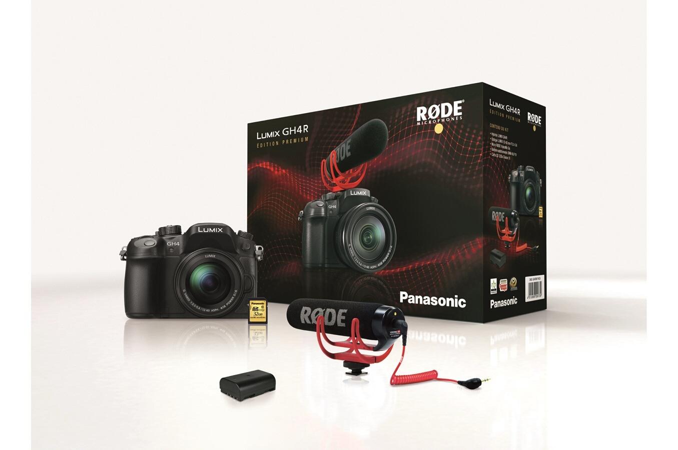 [Adhérents] Appareil photo Panasonic GH4R, Objectif Lumix 12-60 mm F3.5-5.6, Rode VideoMic Go, Batt. supp, SD 32 Go (+90€ sur votre compte)