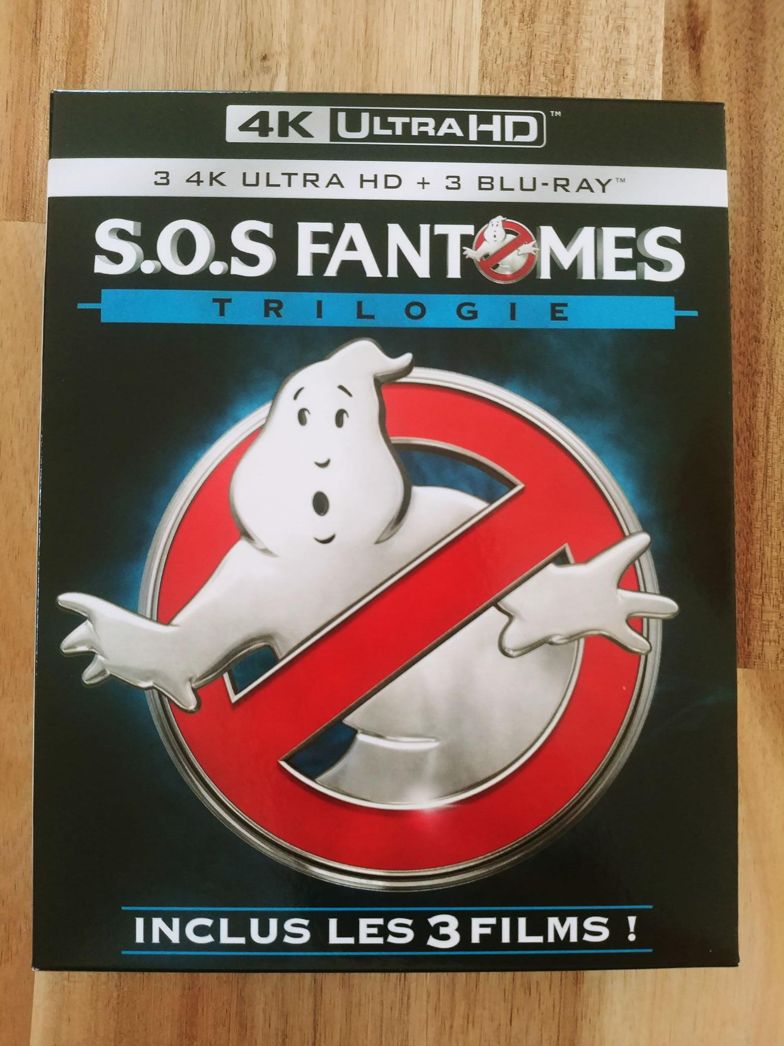 Coffret Blu-ray 4K (+ Blu-ray) Trilogie SOS Fantômes