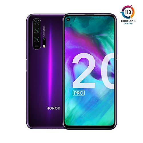 "Smartphone 6.26"" Honor 20 Pro - Double SIM, RAM 8 Go, 256 Go, Phantom Black Purple"
