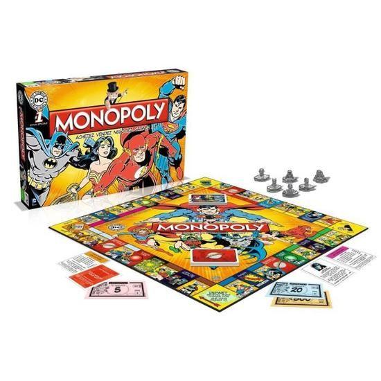Jeu de société Winning-Moves Monopoly DC Comics (VF)