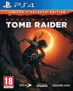 Jeu Shadow Of The Tomb Raider Edition Steelbook sur PS4 - Micromania Perpignan (66) et Carcassonne (11)