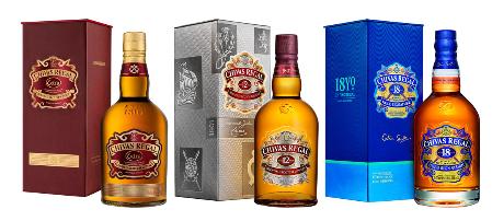 Lot de 3 Bouteilles de Whisky Chivas - 12 ans, 18 ans et Extra 89€, optimisable sous conditions