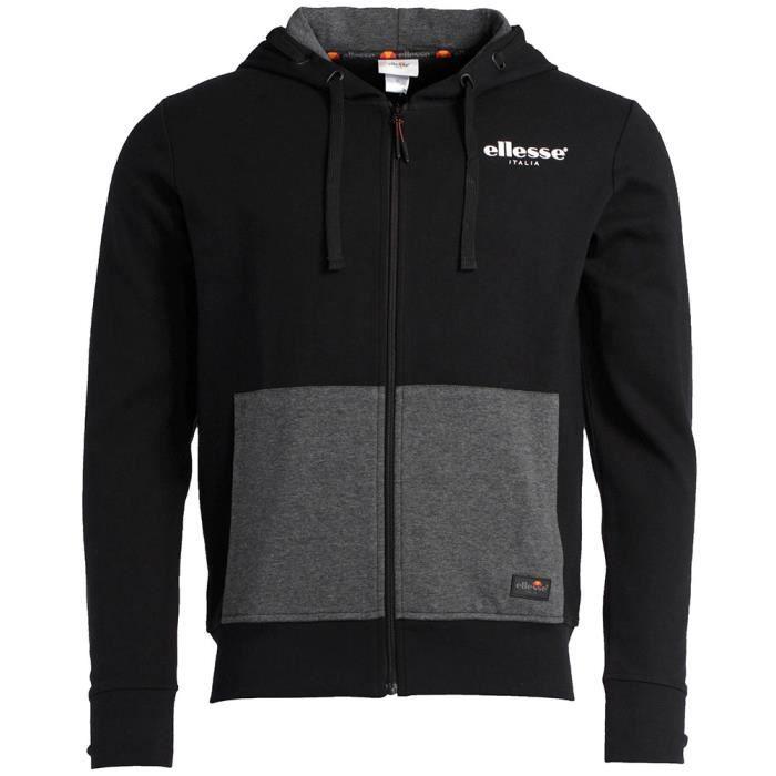 Sweat-shirt Zippé à Capuche Ellesse Gustave SWS Corpo - Tailles au choix