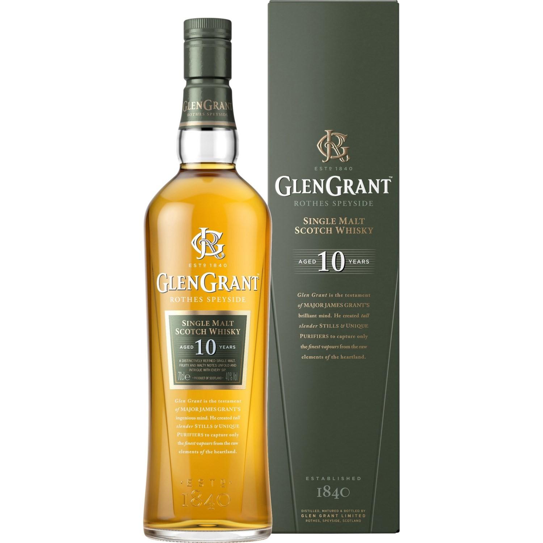 Bouteille de whisky Glen Grant - 10 Ans