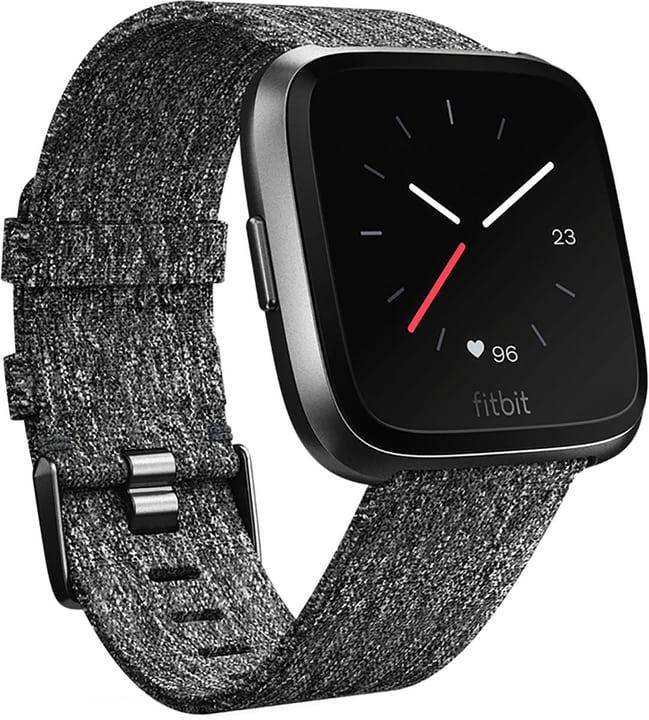 Montre connectée Fitbit Versa - Charcoal Woven/Aluminium (Frontaliers Suisse)