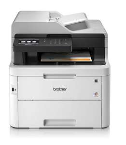 Imprimante Multifonction Laser Couleur Brother MFC-3750CDW - Fax / WiFi, Double Face