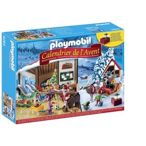 Jouet Playmobil Calendrier de l'Avent 9486 - Pompiers incendie chantier (Via 25% sur Carte Fidélité)