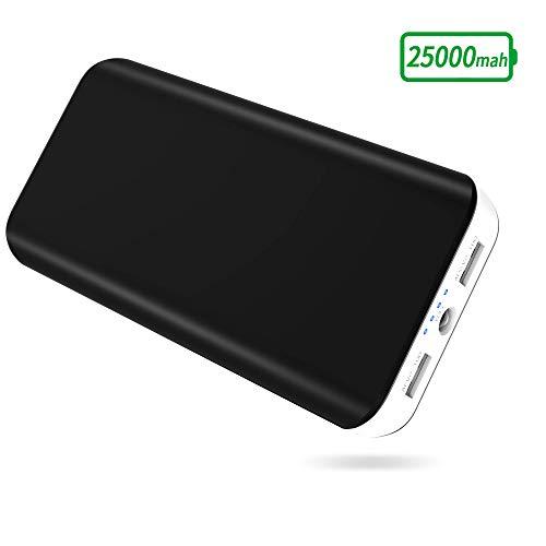 Batterie Externe FKANT - 25000mAh, 2 Ports USB (Vendeur Tiers)